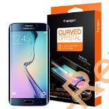 Galaxy S6 Edgeのエッジ部分まで覆うSPIGEN製の保護シート「カーブド・クリスタル(SGP11537)」を貼付してみた #SPIGEN #Galaxy #S6Edge