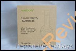 2,000円以下で購入が可能な有線密閉型ヘッドホン「AUSDOM F01」を検証する