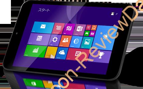 NTT-X StoreにてWindows 8.1搭載の軽量な7インチタブレットPCが7,980円、送料無料で販売中