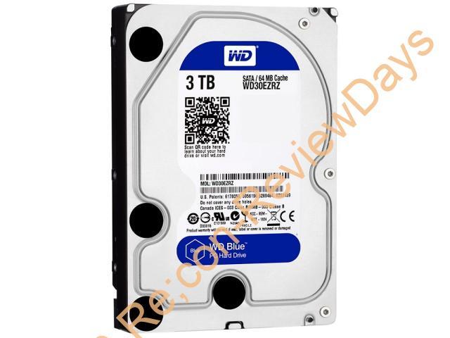 Western Digital製の3.5インチ3TB HDD「WD30EZRZ-RT」が最安特価9,239円、送料無料で販売中