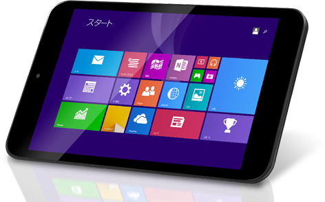 NTT-X StoreにてWindows 8.1搭載の軽量な7インチタブレットPCが7,980円、送料無料で販売中!