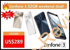 Etorenにて週末セールでASUS ZenFone3 5.2インチ 32GBモデルが特価2.9万円で販売中 #ASUS #Etoren #格安スマホ