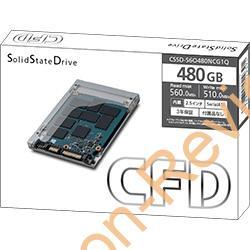 NTT-XにてCFD製の2.5インチ480GB SSD「CSSD-S6O480NCG1Q」が特価11,980円、送料無料で販売中 #NTTX #SSD #Hynix #自作PC