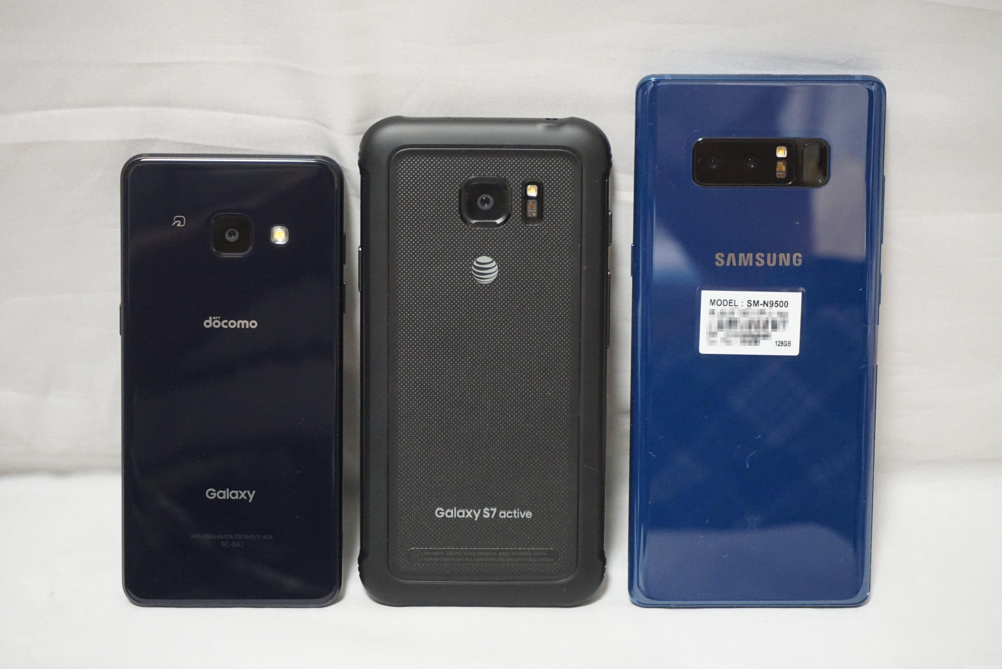 Samsung GALAXY Note8 SM-N9500 ファーストインプレッション #Samsung #Note8
