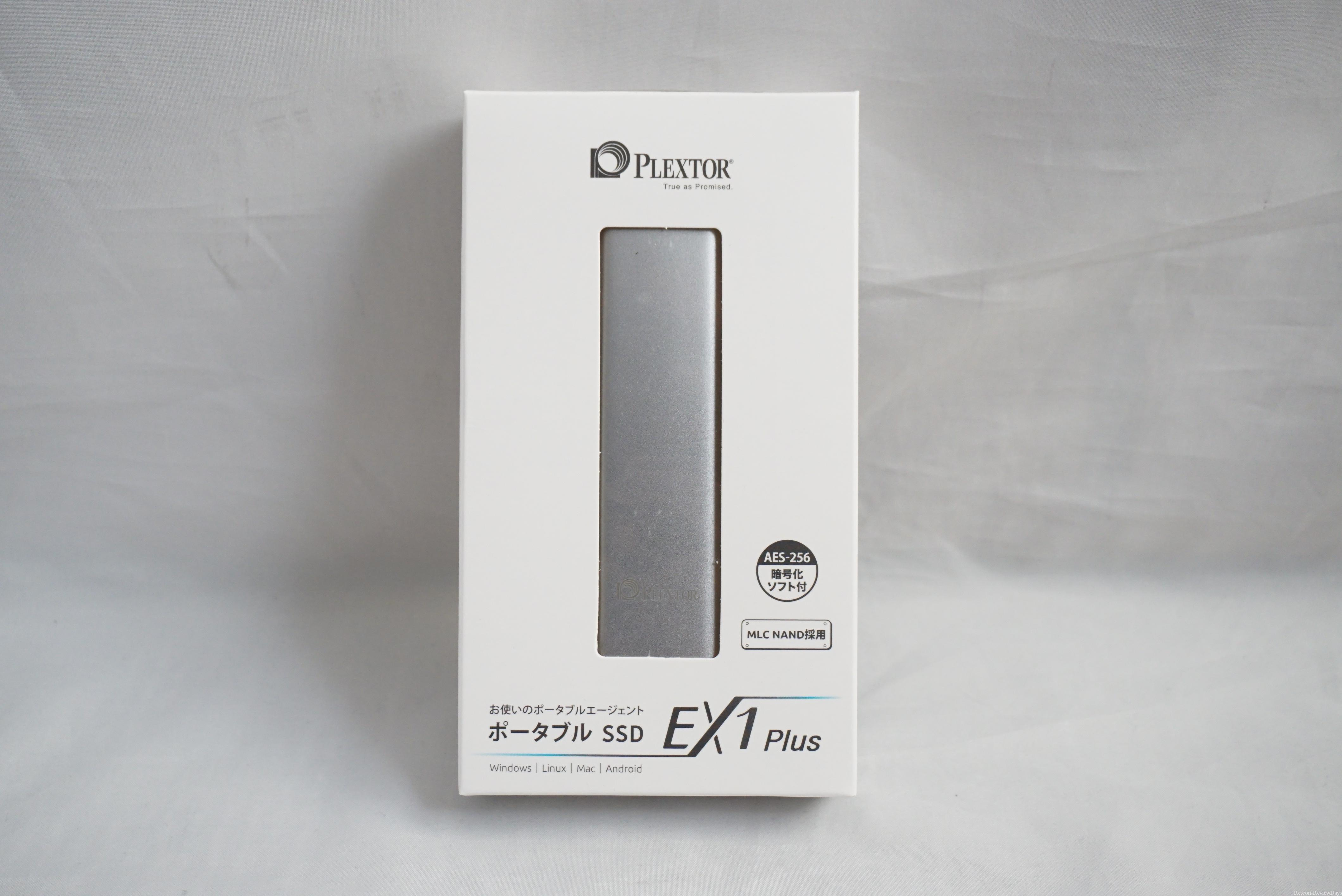 Plextor製のUSB 3.1 Gen2対応のポータブルSSD 128GB「EX1-PLUS 128G」のパフォーマンスを検証する #Plextor #TypeC #SSD #自作PC