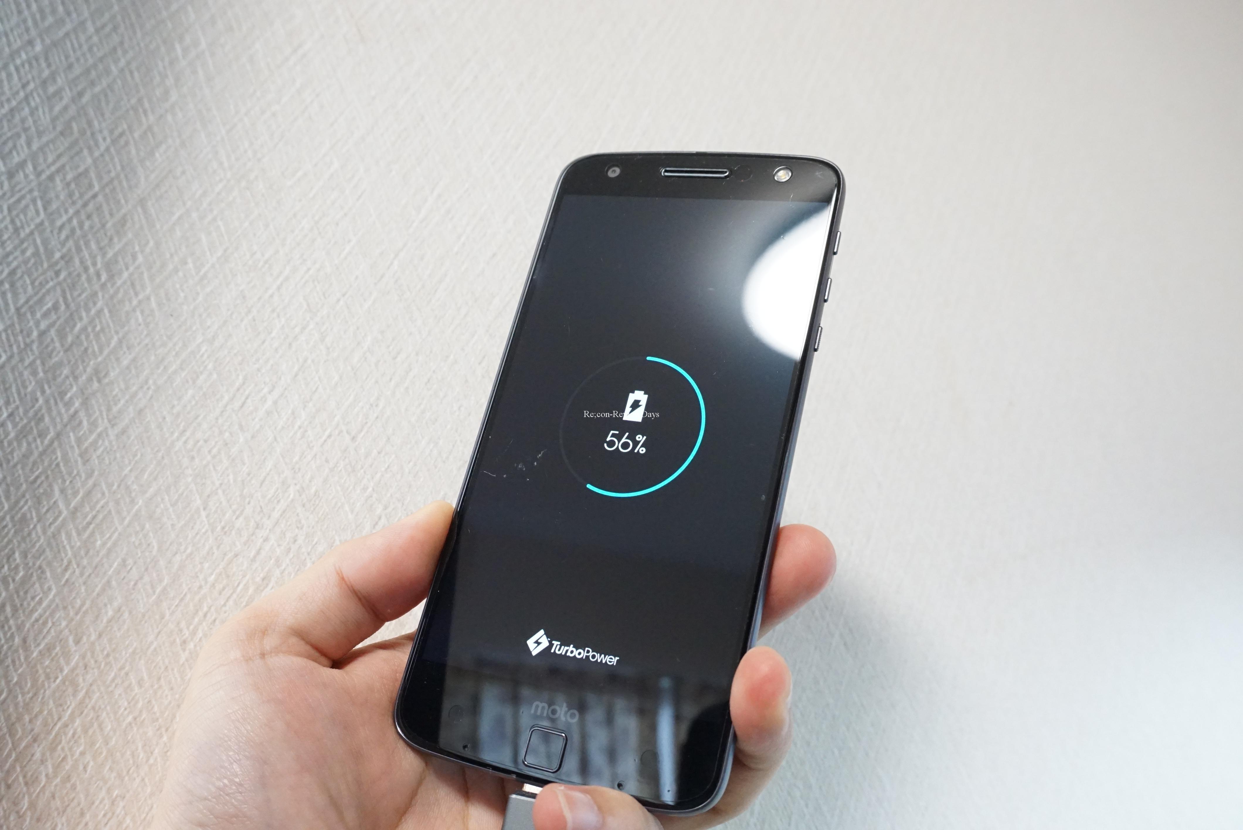 Motorola Moto Zのバッテリーが劣化によりすぐ電源が落ちるようになりました #Motorola #MotoZ #XT1650
