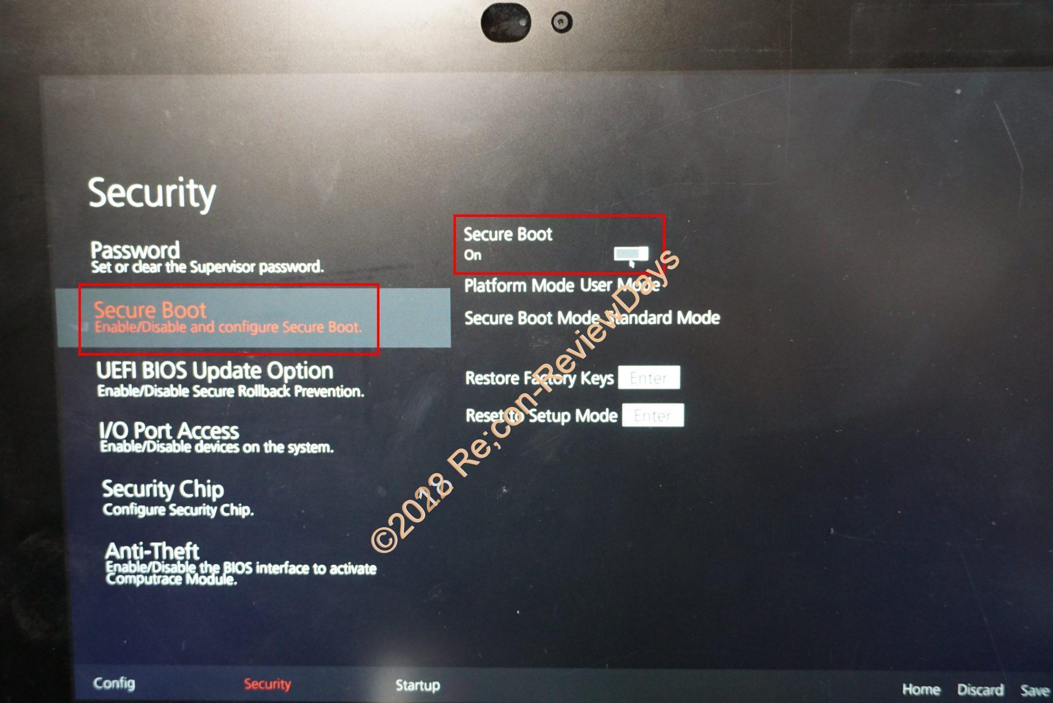 Lenovo Thinkpad 10でOSをインストールする為にUSB Bootを行う方法 #Lenovo  #Thinkpad #Win10