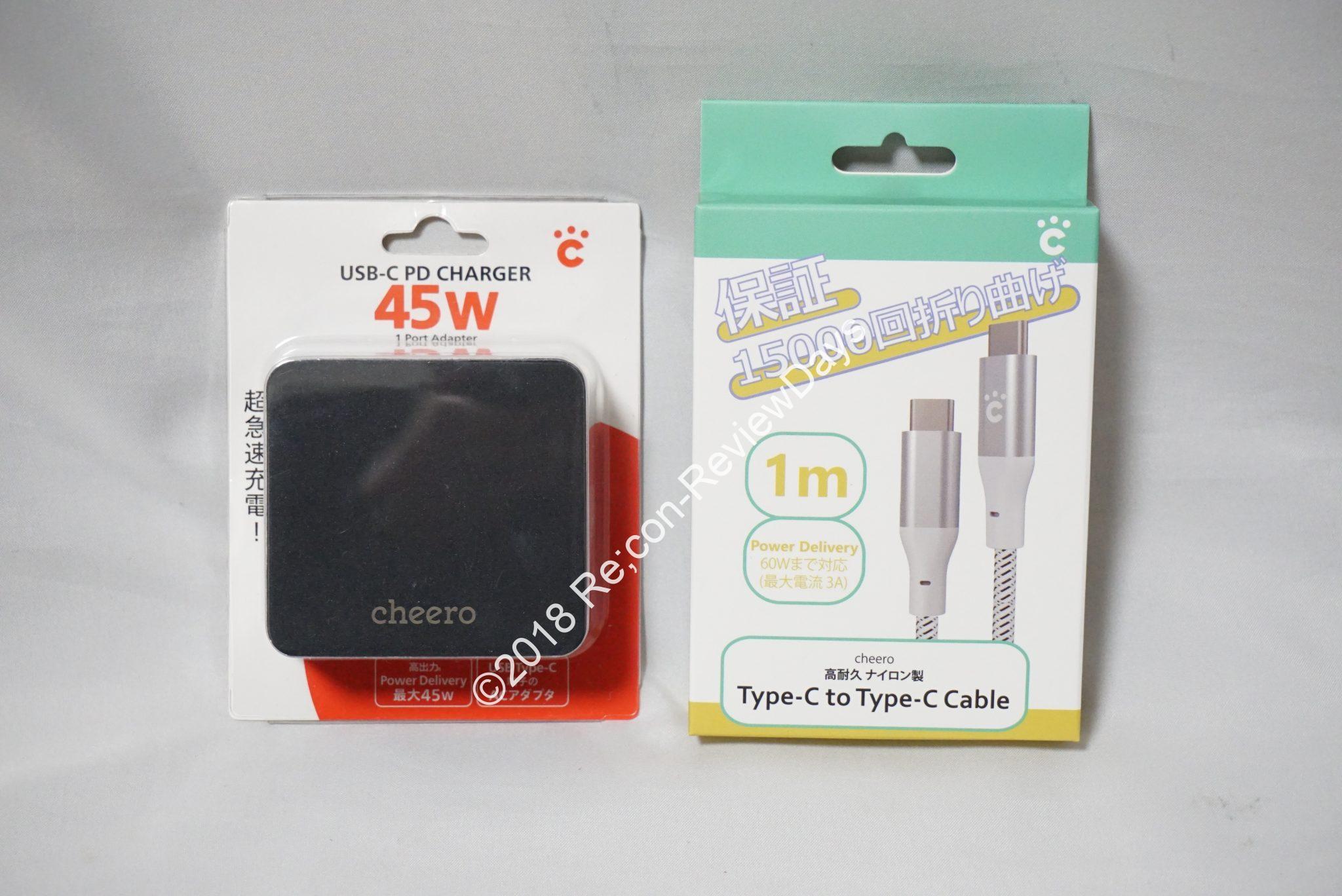 Let's note SV7/LV7に最適なcheero製USB PD対応45W AC「CHE-326」をチェックする #cheero #USBPD #SV7 #SV8 #Panasonic #Letsnote