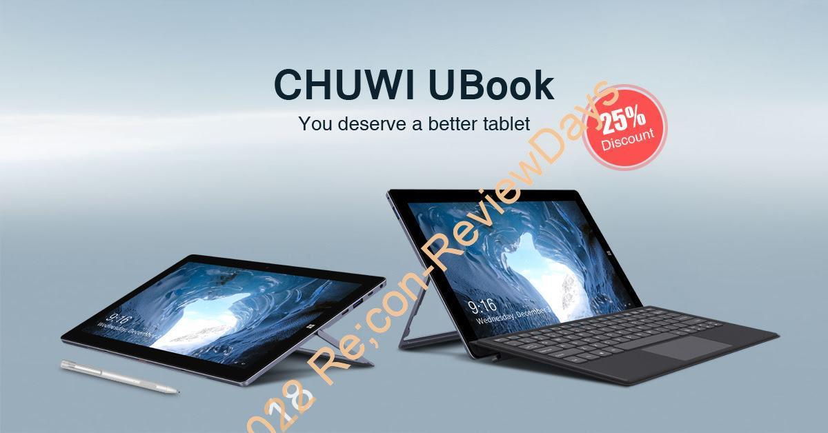 KICKSTARTERで出資が開始されているCHUWI製の「UBook」スペックまとめ #CHUWI #KICKSTARTER #UBook