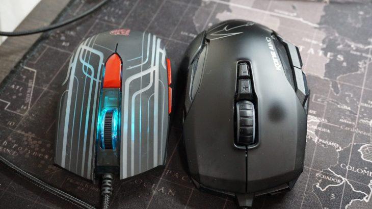 愛用していたROCCAT製のゲーミングマウス「KONE AIMO」の左クリックがチャタリングを起こし始めました