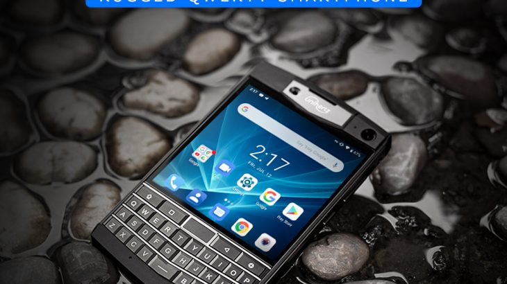 Unihertz製のBlackBerry似スマートフォン「Titan」が出資開始、6GB RAM、128GB ROMを搭載したAndroidスマートフォン