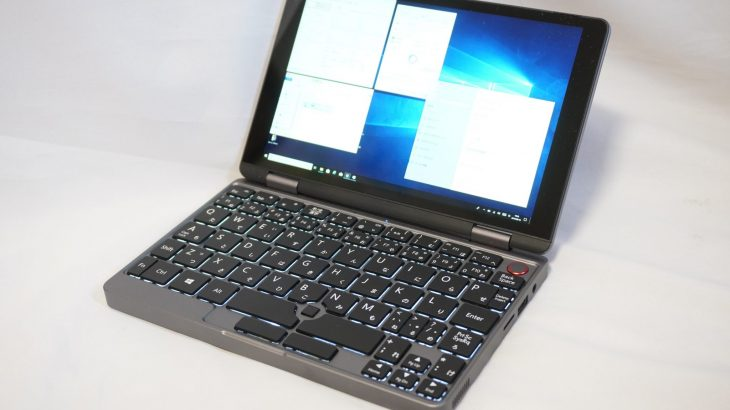 CHUWI MiniBook N4100モデルの量産前サンプルをチェックしていく #CHUWI #MiniBook #UMPC #INDIEGOGO #クラウドファンディング #レビュー
