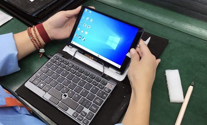 INDIEGOGO出資分のCore m3版MiniBookはまだ日本の倉庫に発送されていないことが発覚 #INDIEGOGO #CHUWI #MiniBook #クラウドファンディング