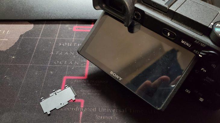SONY α6400のバリアングル液晶下にあるフレキケーブルの蓋が取れてしまったお話 #SONY #a6400 #カメラ #ミラーレス一眼 #ミラーレス